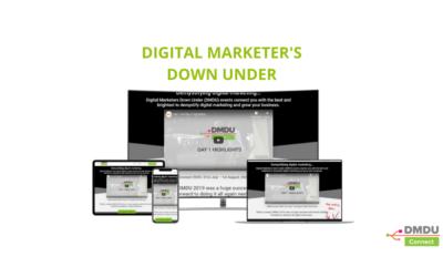 Digital Marketer's Down Under 7 Day Free trial
