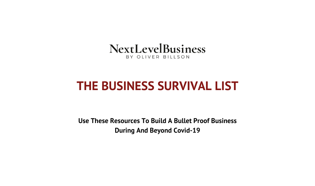 NextLevelBusiness – The Business Survival List